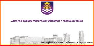 Jawatan Kosong Pensyarah Kolej University Teknologi Mara