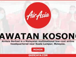 Career AirAsia Jawatan Kosong Terkini (1)