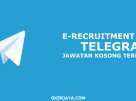 E-recruitment Group Telegram Pencarian Kerja