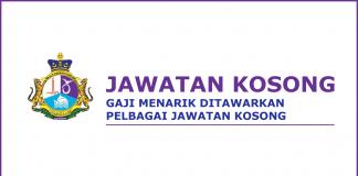 Iklan jawatan kosong Majlis Daerah Pontian