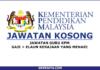 Jawatan Kosong Guru Kementerian Pendidikan Malaysia (1)