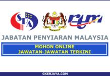 Jawatan Kosong Jabatan Penyiaran Malaysia (RTM) (1)