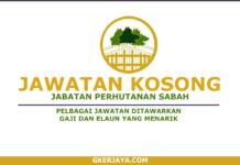 Jawatan Kosong Jabatan Perhutanan Sabah (1)