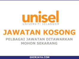 Jawatan Kosong Universiti Selangor UNISEL
