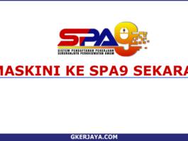 Kemaskini SPA8i kepada SPA9 yang terbaru