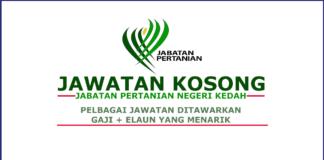 Kerja Kosong Jabatan Pertanian Negeri Kedah (1)