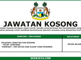 Kerja Kosong Kerajaan Majlis Bandaraya Ipoh (1)