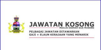 Kerja Kosong Majlis Daerah Gua Musang