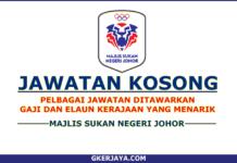 Kerja Kosong Majlis Sukan Negeri Johor (2)