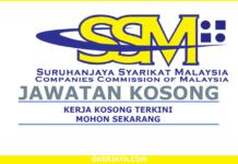 Kerja Kosong SSM Suruhanjaya Syarikat Malaysia (1)