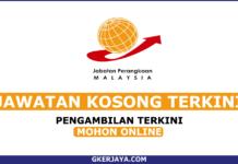 Kerja Kosong Sambilan Harian Jabatan Perangkaan Malaysia