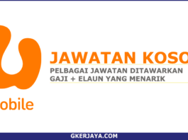 Kerja Kosong U Mobile Sdn Bhd