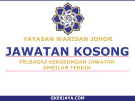 Kerja Kosong Yayasan Warisan Johor (1)