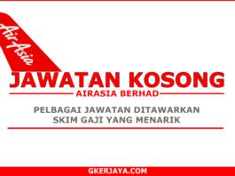 Kerja kosong Terkini AirAsia Berhad (1)