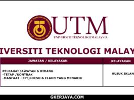 Kerja terkini Universiti Teknologi Malaysia (1)
