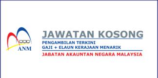 Peluang Jawatan Kosong Jabatan Akauntan Negara (1)