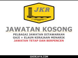 Peluang kerjaya Jabatan Kerja Raya Negeri Sarawak