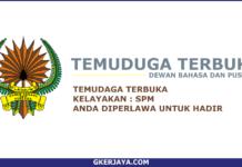 Temuduga Terbuka Dewan Bahasa Dan PustakSSSa (1)