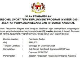 MySTEP Jabatan Perpaduan Negara dan Integrasi Nasional